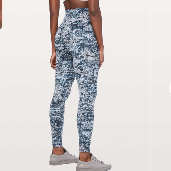 Lululemon Size 8 Paisley Full Length Align Pant